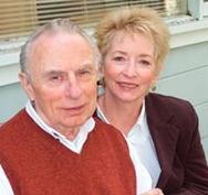 Frank Worthen con su esposa Anita