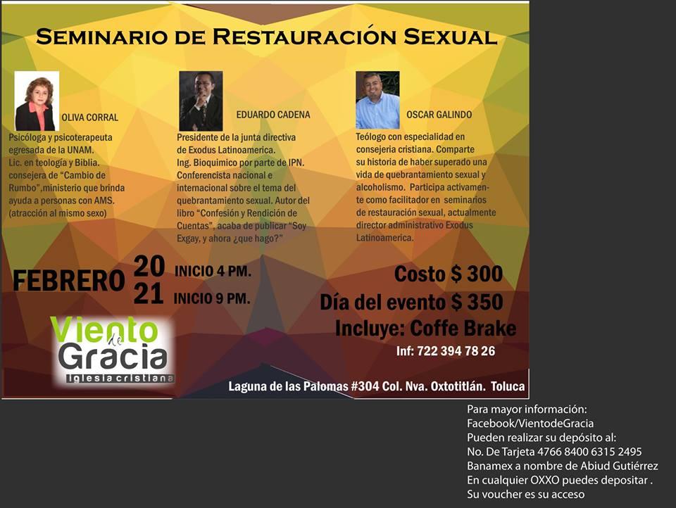 Seminario Toluca Febrero 2015