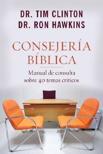 Consejería Bíblica 1-Manual de consulta